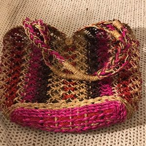 Handbags - Crocheted Summer Tote Bag